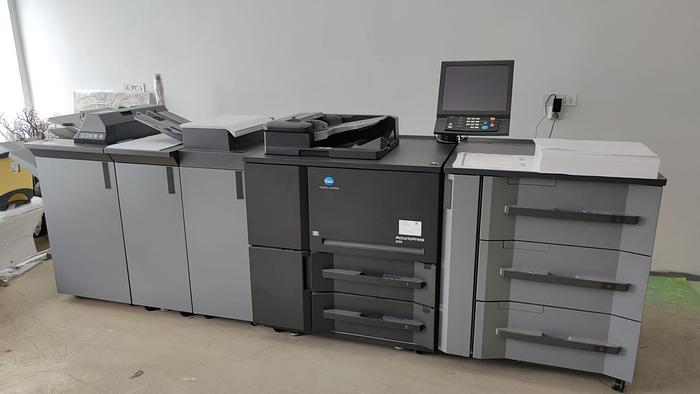 Used 2018 Konica  AccurioPress 6120  - include PF-710, FS-532, RU-518, RU-510, SD-510, Pl-502, MK-732, PK-522, HM-103
