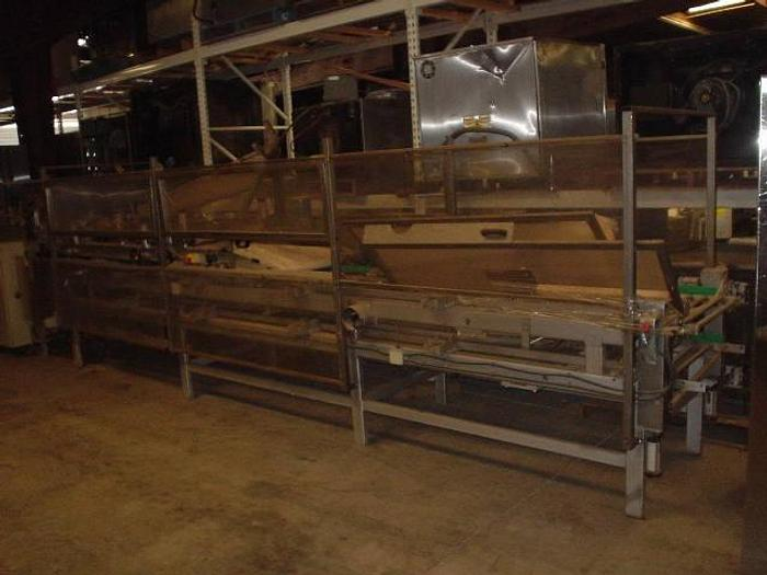 Used TRIPLE WIDE BOLILLO SHAPER WITH PAN LOADER