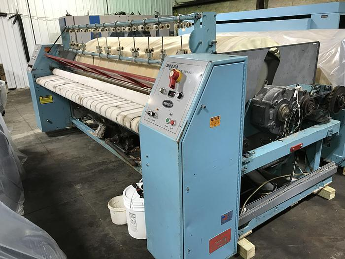 "Used 2006 BRAUN 2 ROLL 48"" X 120"" STEAM IRONER"