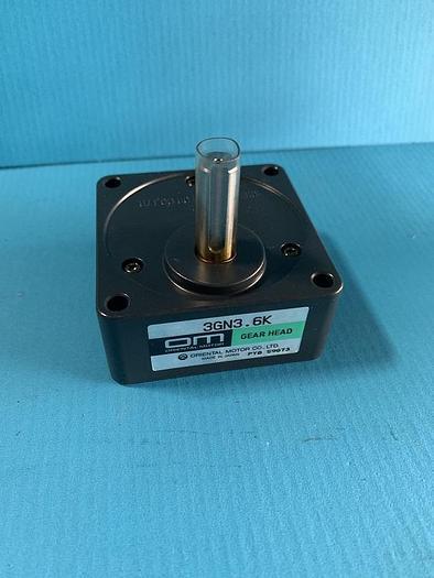 Used oriental motors gear head 3gn3.6k