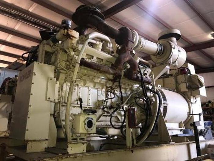 Used 0.8 MW 1994 Used Kohler 800R0ZD77 Diesel Generator Set
