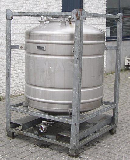 Gebraucht 2 Stück Transportbehälter