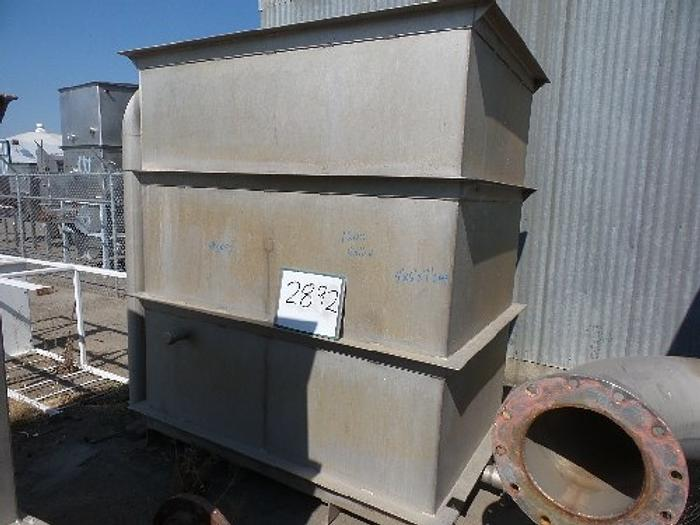 1,260 Gallon Rectangular Stainless Steel Tan