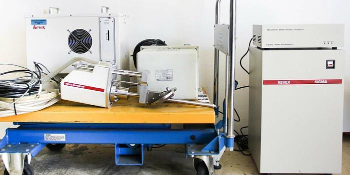 Used Kevex Sigma SuperDry X-Ray Spectrometer w/ Digital Beam Thermo Noran + MORE 6420