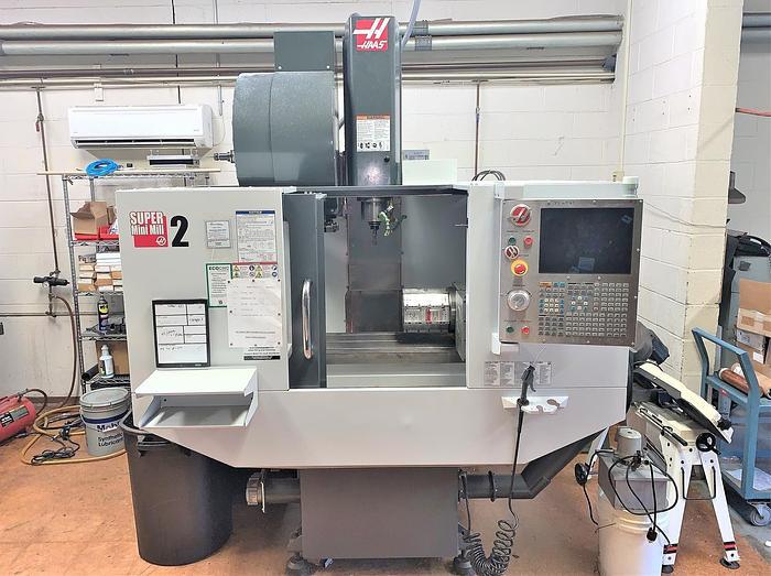 Used 2011 Haas Super Mini Mill 2