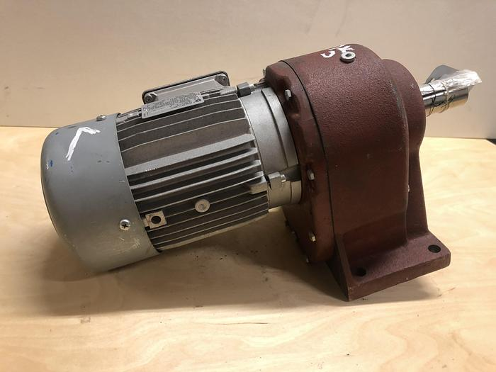 Used 0,75 kW, NORD, Electric motor with reducer