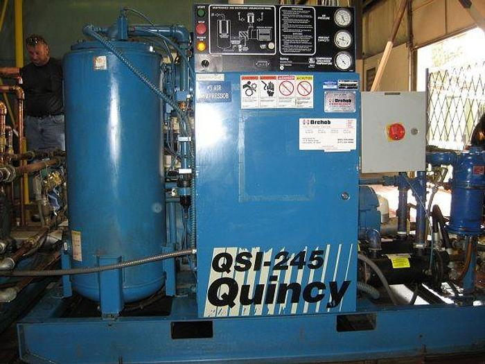 Used 1994 Quincy 50HP compressor (3)