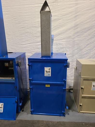 Used Torit Dust Collector Industrial Vacuum System 2HP 1200 CFM Powder Vacume