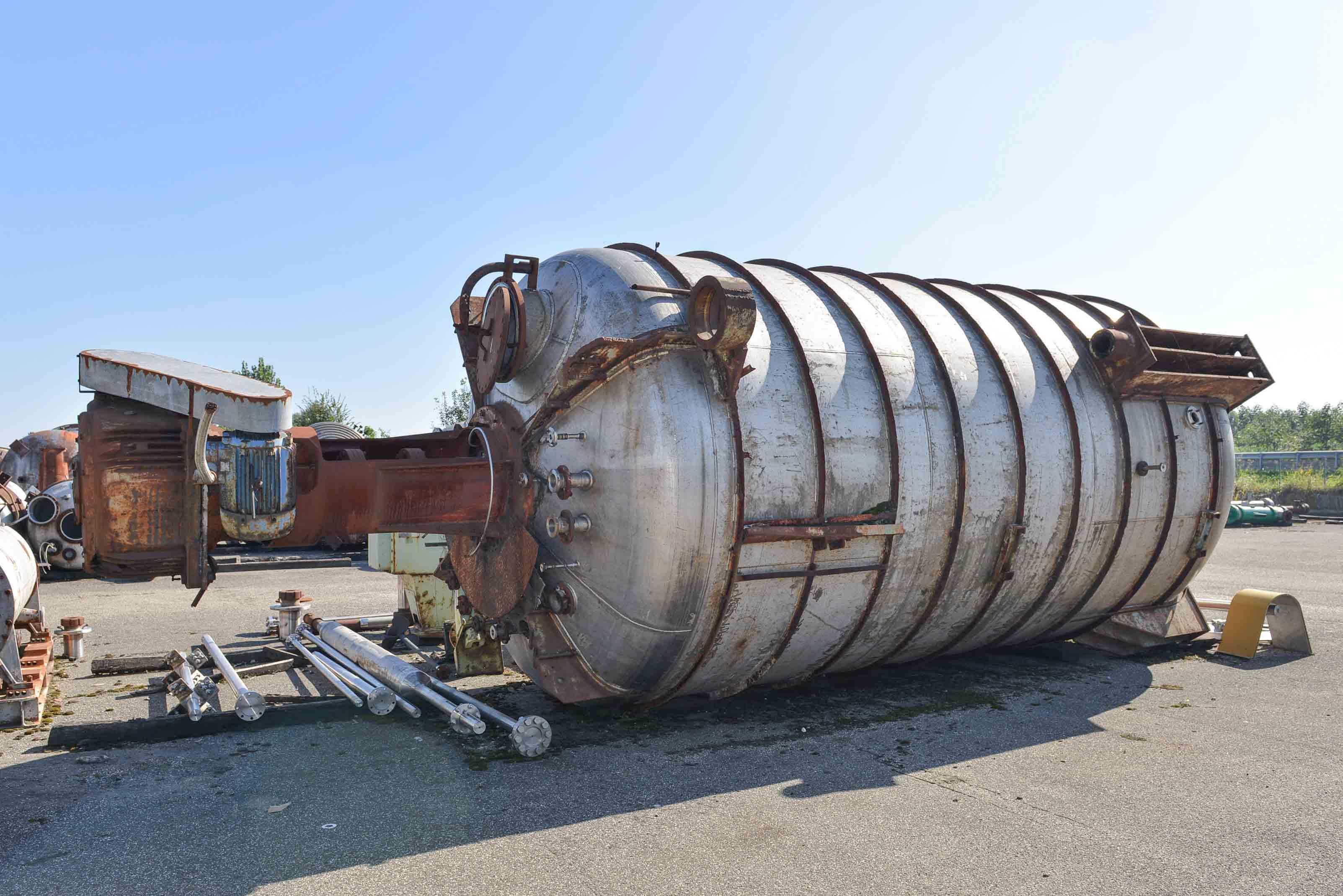 Reattore / miscelatore COSMIN da 43900 Litri