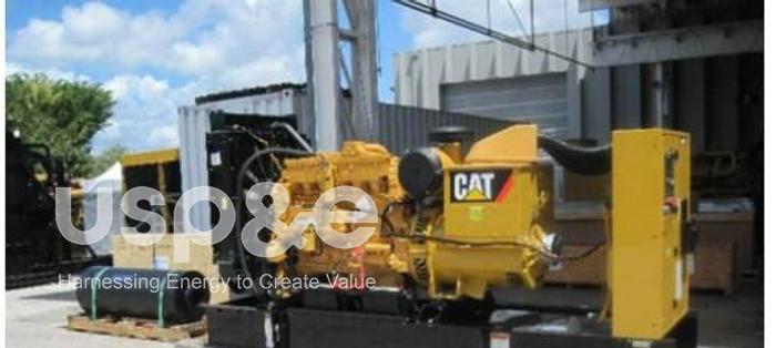 Used .40 MW 2012 USED CATERPILLAR 3406c TA DIESEL GENERATOR SETS