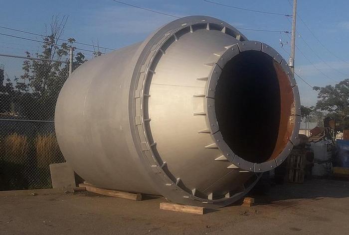 Used 22,000 lb Tilting Rotary Furnace: MC-389