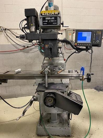 "10"" X 50"", LILIAN, 3VH, CNC MILLING MACHINE"