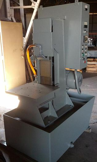 "Used 8"" White Sundstrand Wet/Dry Vertical Belt Grinder"