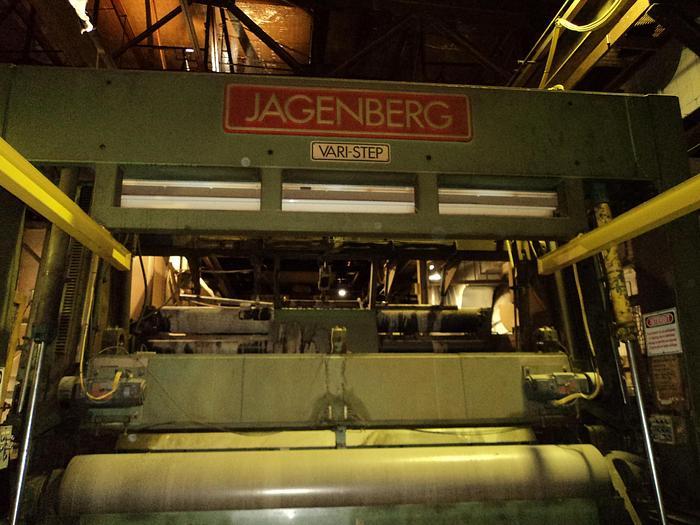 "Used 157"" (4.00M) JAGENBERG VARI STEP TWO DRUM SLITTER"