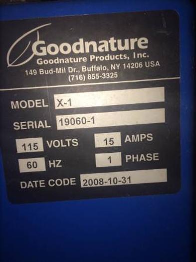 Good Nature X-1 juicer