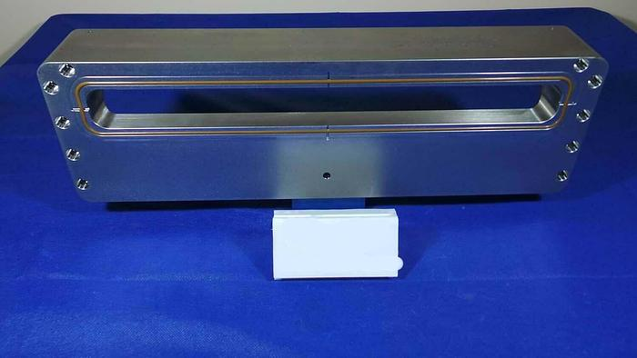Used Applied Materials 0040-34330-006 Slit Vale Door, Chamber Mount