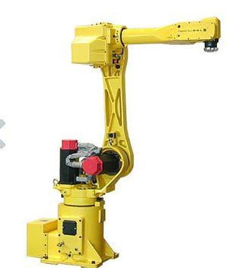 FANUC M16iAL 6 AXIS CNC ROBOT WITH RJ3 CONTROLLER 10KG X 1,813 MM REACH WITH 7TH & 8TH AUXILIARY AXIS DRIVES.