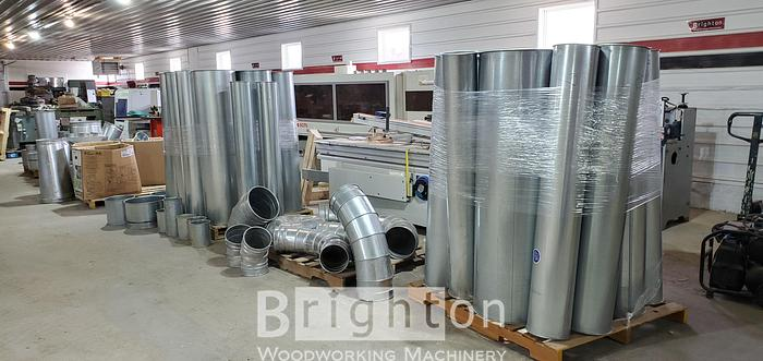 2019 Nordfab Quickfit dust collector duct
