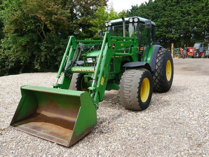Used John Deere 5510 4wd Tractor