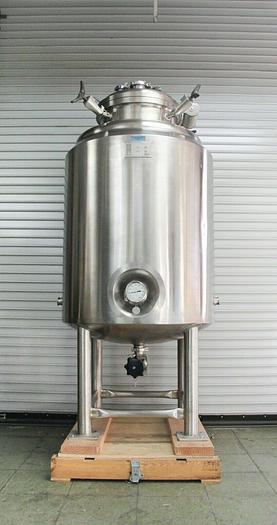 Used W.H.E. Bio-Systems 650L Stainless Steel Jacketed Process Vessel Tank  (5739)