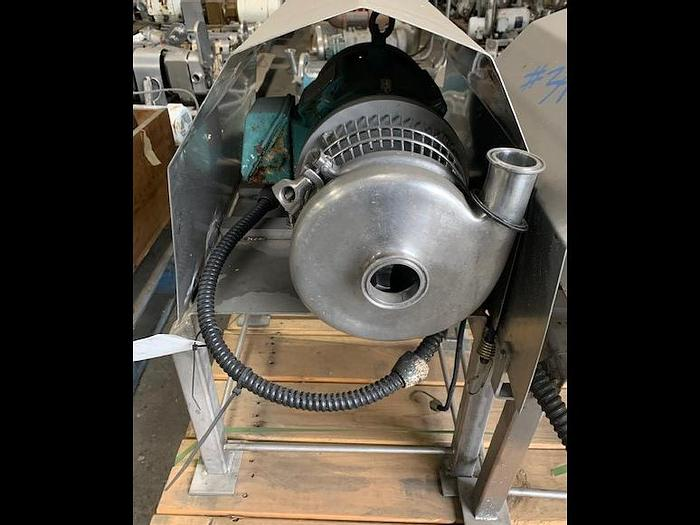 "Used Tri-Clover 2"" x 1.5"" Centrifugal Pump"