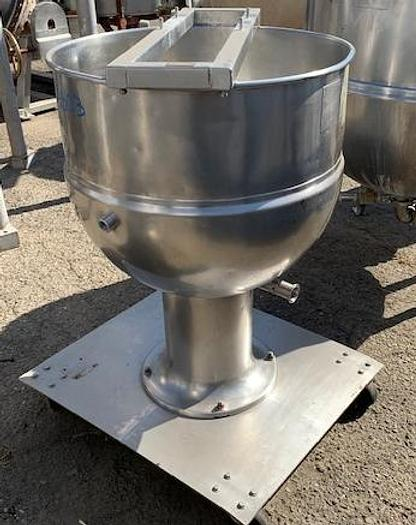 Groen 40 Gallon Stainless Steel Jacketed Mix Kettle