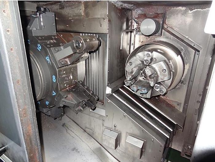 MORI SEIKI RL253 TWIN SPINDLE CNC CHUCKER WITH GANTRY LOADER