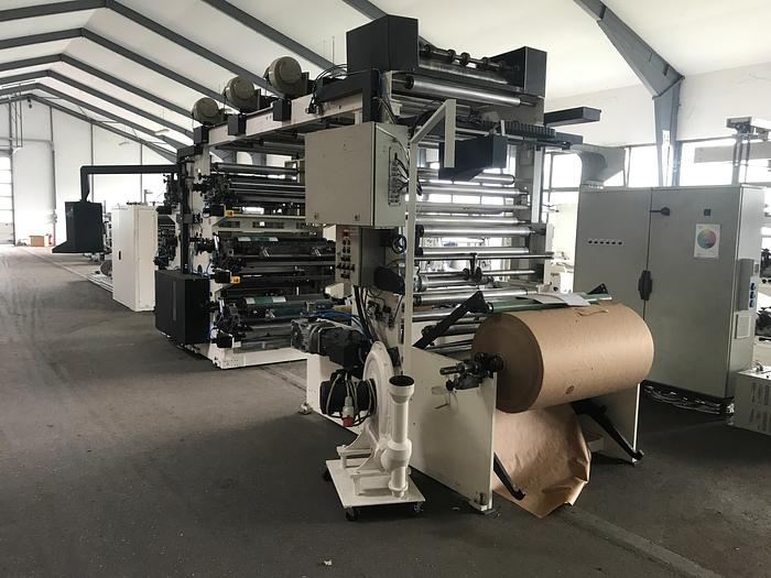 Used NEWLONG FLEXO 6 COLORS MODEL LHNL610 YEAR 2000