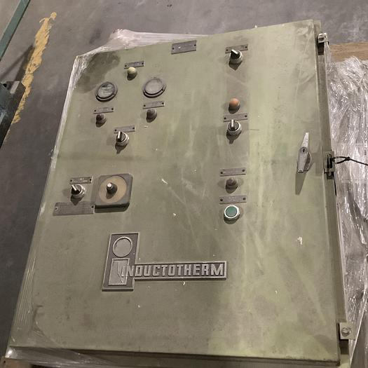 Used INDUCTOTHERM WATER SYSTEM CONTROL CABINET