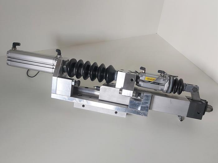 Gebraucht Zustellzylinder und Klemmung, Hub 125mm K1, Festo gebraucht-Top