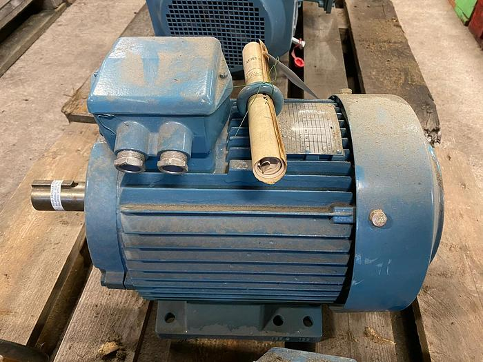 Used ABB Motors Electric motor 5,5 kW
