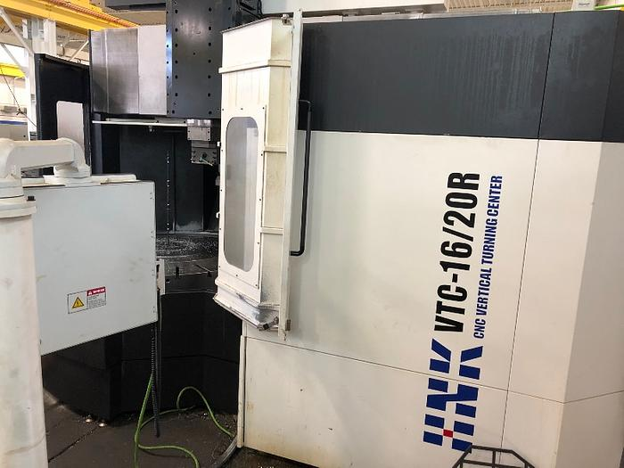 HNK 3 AXIS CNC VERTICAL TURNING CENTER MODEL VTC 16/20R