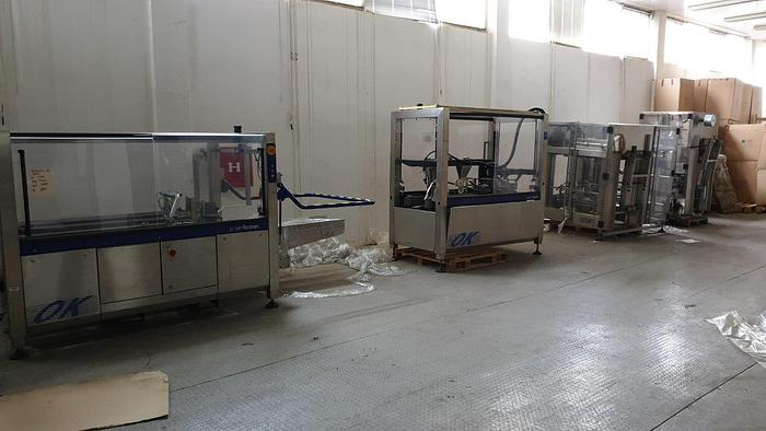 Used Bag-in-Box Packing Line