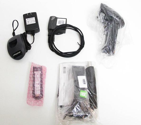 Used Metrologic Focus BT Scanner MK1633-61B40 W/ Bluetooth Modem & More (6381)