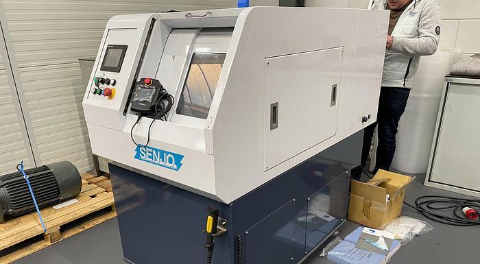 Used Senjo-Seiki PLC-201 CHAMFERING MACHINE