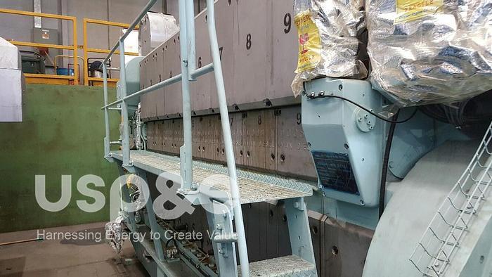 Used 1.98 MW 2013 New MAN 9L21/31 HFO Generator