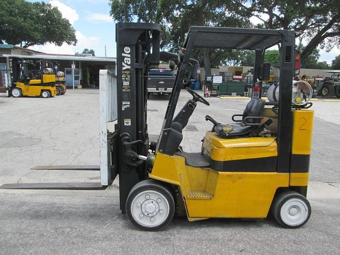 Used 2004 Yale 8,000 LB Warehouse Forklift