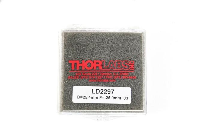 """Used Thorlabs LD2297 Uncoated 1"""" Bi-Concave Lens AR Coating Lot of 19 NEW (5268)"""