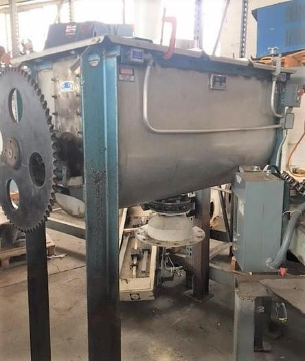 Used 20cuft Young Ribbon Blender SS