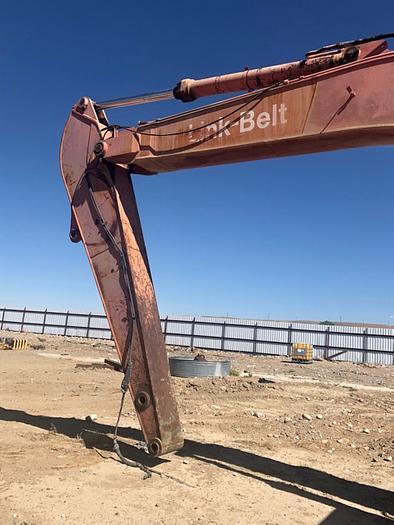 HB18233 Link Belt excavator LS5800 C Series II set up for magnet