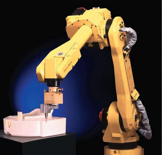 Used FANUC M16iB/10L 6 AXIS CNC ROBOT WITH RJ3iB CONTROLLER 10KG X 1,885 mm REACH