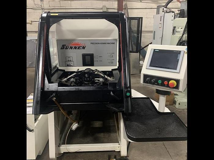Used 2016 SUNNEN SH-4000 POWER STROKED HORIZONTAL HONING MACHINE