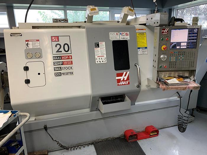 Used HAAS, MODEL SL-2OT, CNC LATHE, 2006