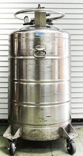 Used CryoFab CMSH-60 LHe 60 Liter Portable Liquid Helium Container (5719)