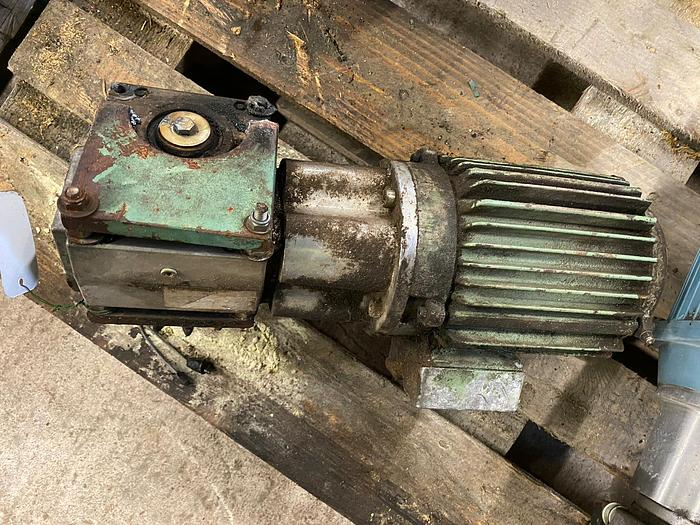 Used Electric motor with reducer