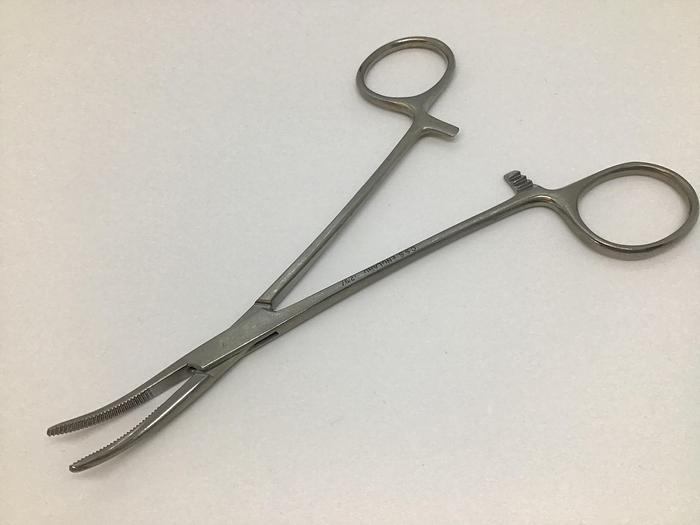 Used Forceps Artery Cairns Curved 145mm