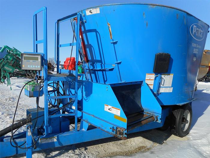 Used PATZ 500 Vertical TMR Mixer