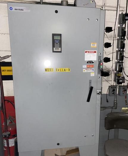 Used ALLEN BRADLEY 200 HP STARTER ROCKWELL AUTOMATION