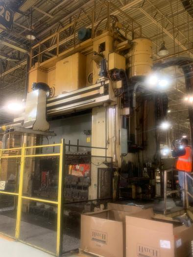 "Refurbished 600 ton Bliss 120""x60"""