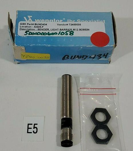 *NEW IN BOX* Wenglor SO953N Photoelectric Sensor 10-30 VDC + WARRANTY!